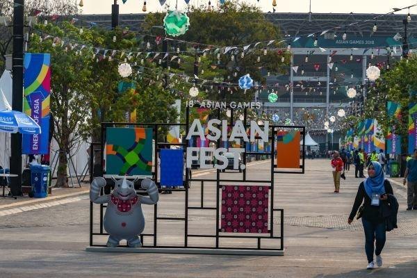 تب جاکارتا یک روز قبل از افتتاحیه بازی های آسیایی 2018
