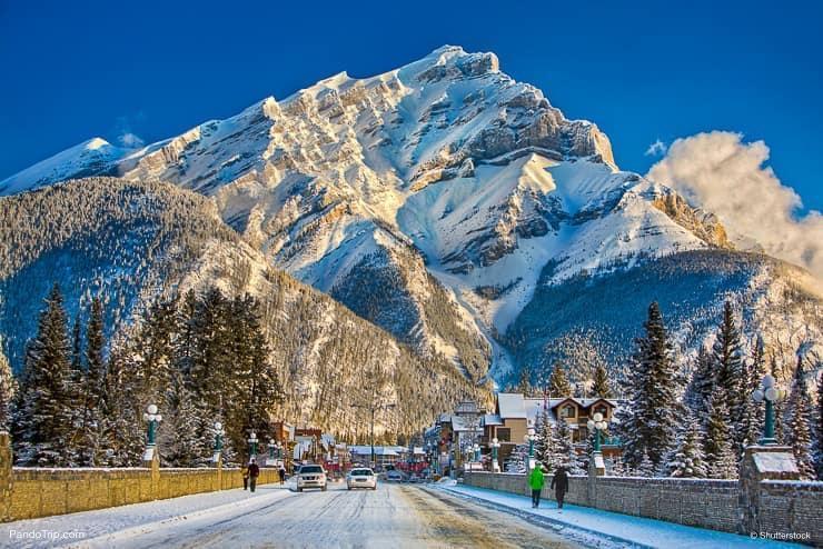 خیابان بنف قلب شهر زیبا در کانادا