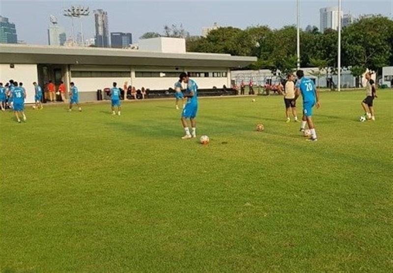 آخرین تمرین تیم امید پیش از دیدار برابر میانمار برگزار گردید