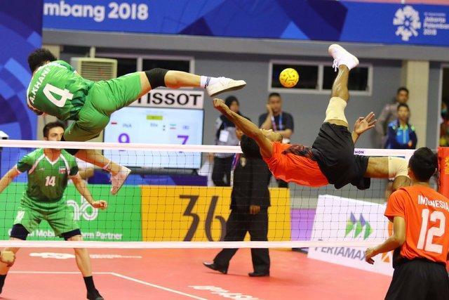 شکست تیم ملی سپک تاکرا مقابل سنگاپور