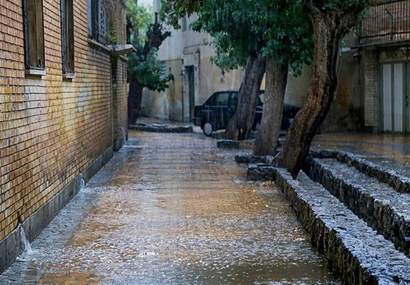 ایران، میزبان باران می گردد