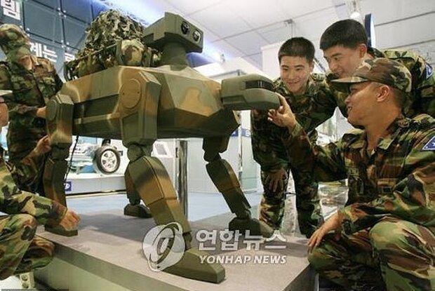 کره جنوبی با الهام از طبیعت ربات نظامی می سازد