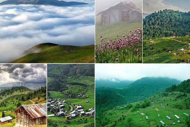 خنک ترین مناطق گیلان در تابستان کجاست؟