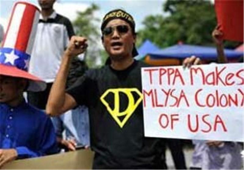 پلیس مالزی 14 معترض را بازداشت کرد
