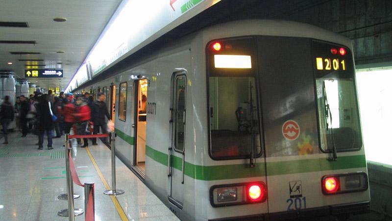 متروسواری در شانگهای