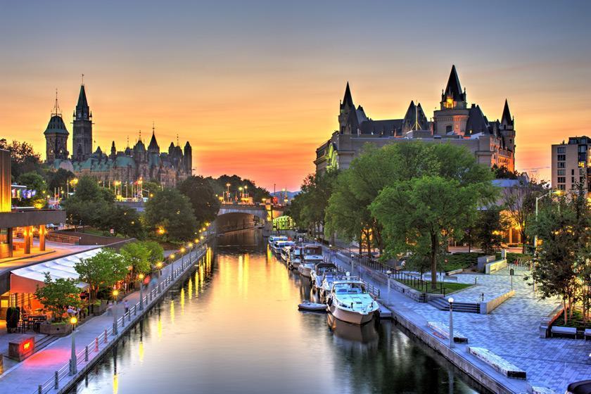 بهترین زمان سفر به اوتاوا، پایتخت زیبای کانادا