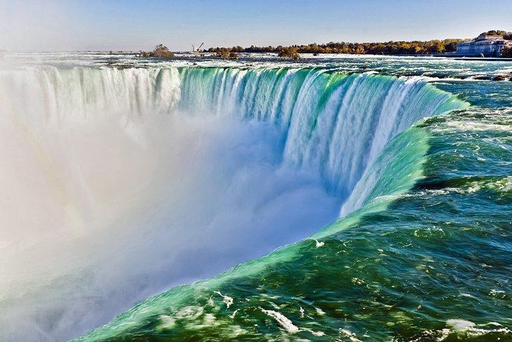 آشنایی با آبشار های نیاگارا کانادا