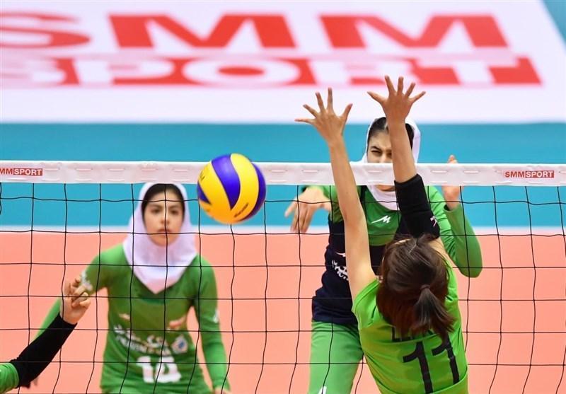 والیبال قهرمانی جوانان دختر آسیا، فزونی ایران مقابل هند و راهیابی به مرحله یک چهارم نهایی