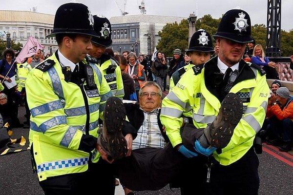 شروع هفته های اعتراضی در کشورهای مختلف، بازداشت 276 نفر در لندن