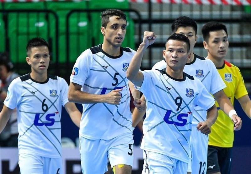 فوتسال قهرمانی باشگاه های آسیا، صعود نمایندگان تایلند و ویتنام به صدر جدول گروه A و B