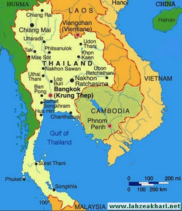 معرفی تایلند و جاذبه های گردشگری و دیدنی آن
