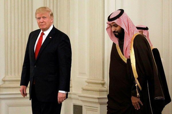 گفتگوی تلفنی ولیعهد سعودی با ترامپ
