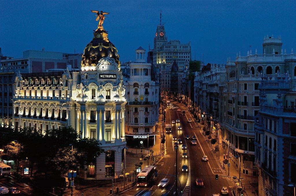 شهر زیبای مادرید در اسپانیا