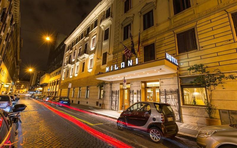 معرفی هتل میلانی رم ، 3 ستاره