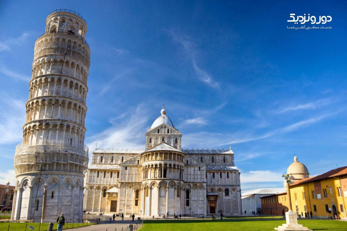 برج پیزای ایتالیا را بهتر بشناسید
