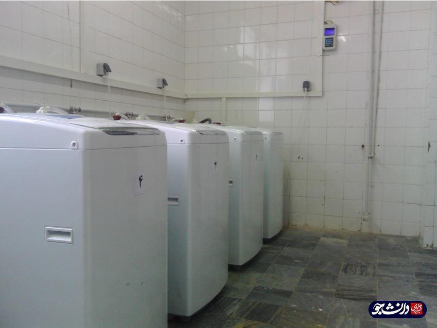 سیستم مکانیزه چندین کاربره ماشین لباسشویی طراحی شد