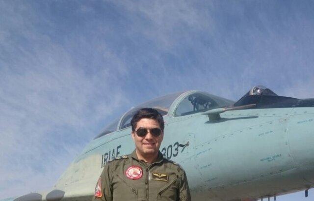احراز شهادت خلبان جنگنده میگ 29