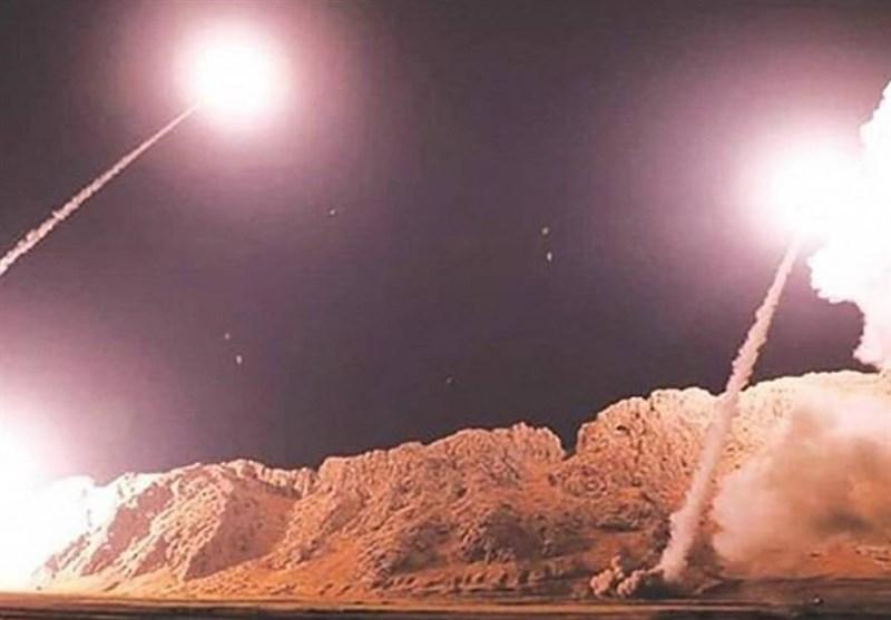 اصابت موشک های ایرانی به چشم هوایی آمریکا در عین الاسد
