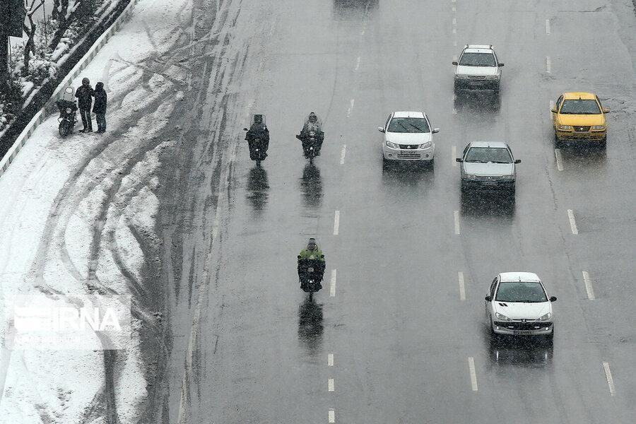 توضیح پلیس در باره شب برفی پایتخت؛ شهرداری با تمام امکانات در خدمت بود
