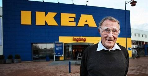 اینگوار کمپراد از کبریت فروشی تا امپراطوری IKEA