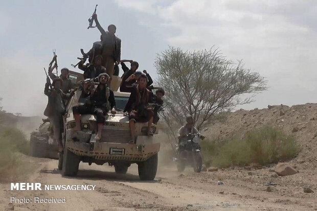 نبرد شدید انصارالله یمن با نیروهای وابسته به ریاض در الجوف و مارب