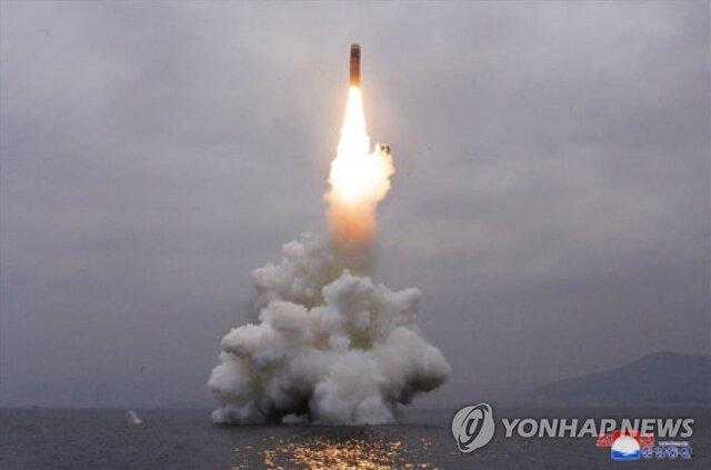 برای اولین بار در 2020، کره شمالی 2 پرتابه نامشخص شلیک کرد
