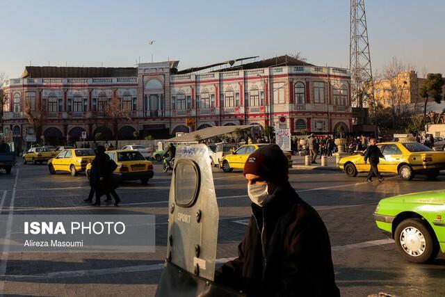 تنفس هوای ناسالم برای گروه های حساس در تهران