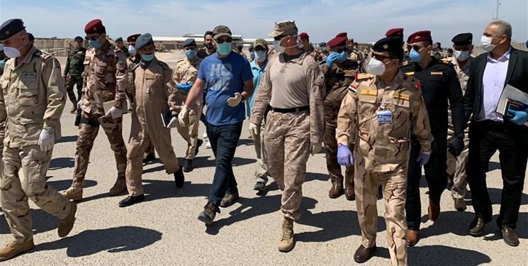 ائتلاف آمریکایی به طور رسمی پایگاه الحبانیه را به ارتش عراق واگذار کرد