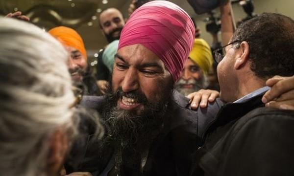 انتخاب یک سیک به عنوان رهبر یکی از احزاب سیاسی کانادا