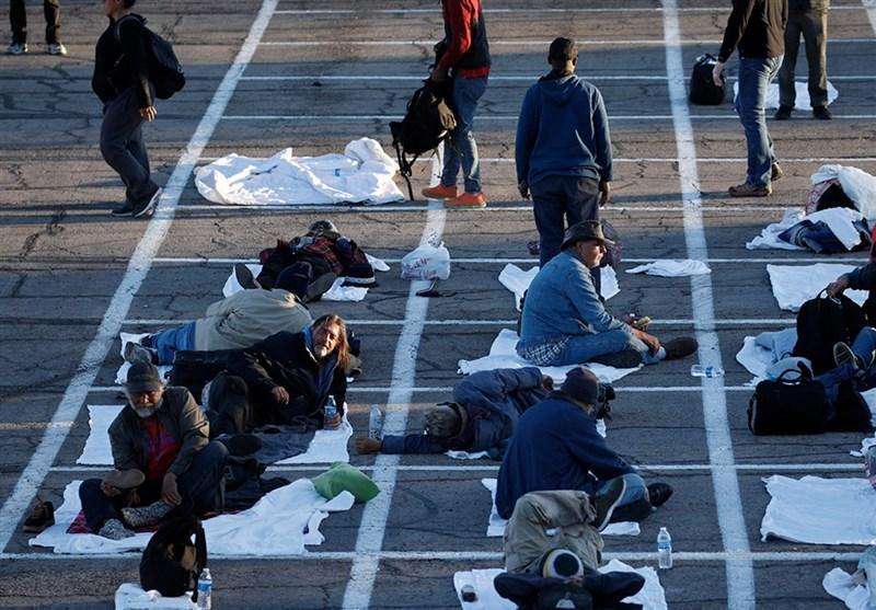 اقتصاددان آمریکایی: تعداد بی خانمان ها در آمریکا بیش از 800هزار نفر افزایش می یابد