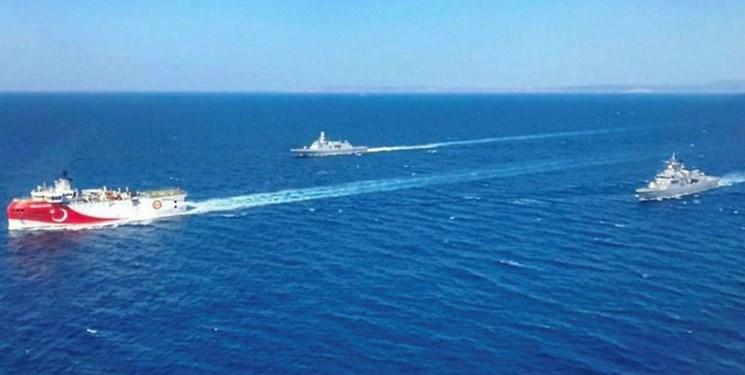تحرک 17 شناور ترکیه در مدیترانه، آماده باش نیروهای مسلح یونان