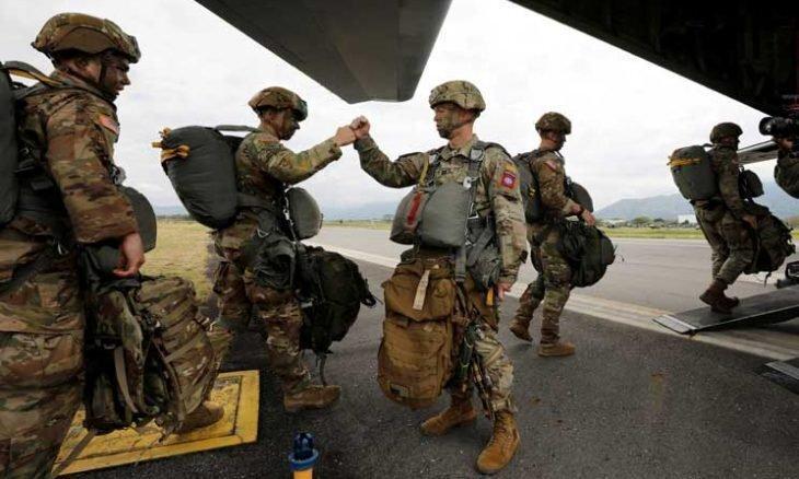 آمریکا علاوه بر یاری به آلمان صدها نیروی نظامی به این کشور اعزام می نماید