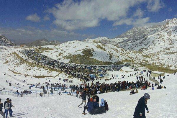 بهره برداری از نخستین پیست اسکی جنگلی ایران در اردبیل