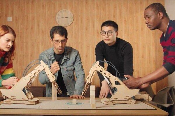 اولین بازوی روباتیک چوبی تولید شد