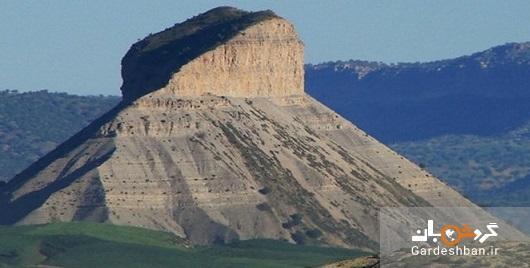 قلعه عظیمی که بر شهر ایلام سایه افکنده است