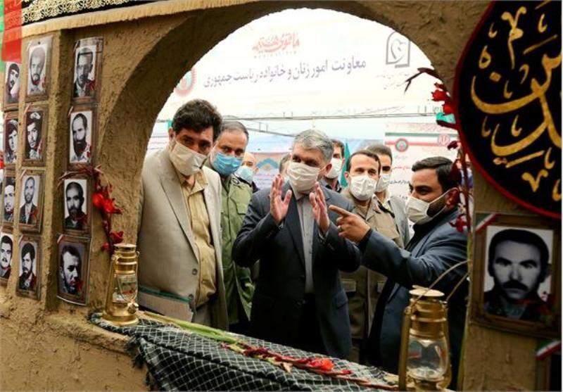 وزیر ارشاد: کوشش مجموعه های فعال در دفاع مقدس الگویی برای دهه پنجم انقلاب است
