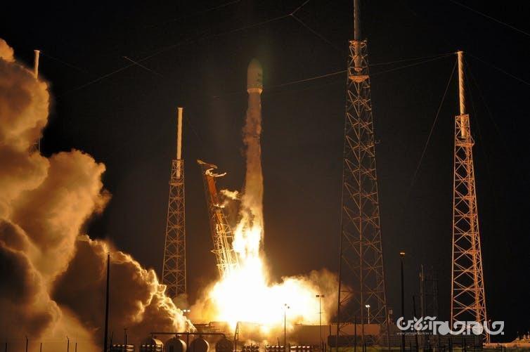 ماهواره جاسوسی امارات به فضا رفت