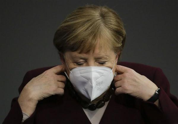 ابراز نگرانی مرکل درباره شرایط وخیم کرونایی آلمان