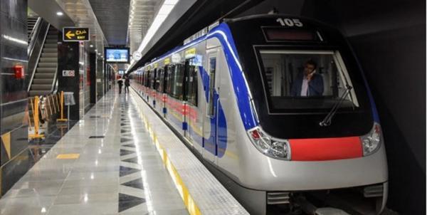 کاهش سر فاصله حرکت قطار ها در خطوط 3 و 4 مترو تهران