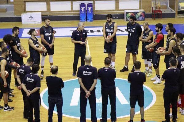 تیم ملی بسکتبال اردویی در پیش ندارد