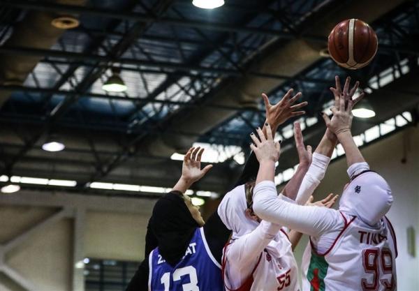 لیگ برتر بسکتبال بانوان، پیروزی گروه بهمن و مهرام در گام نخست