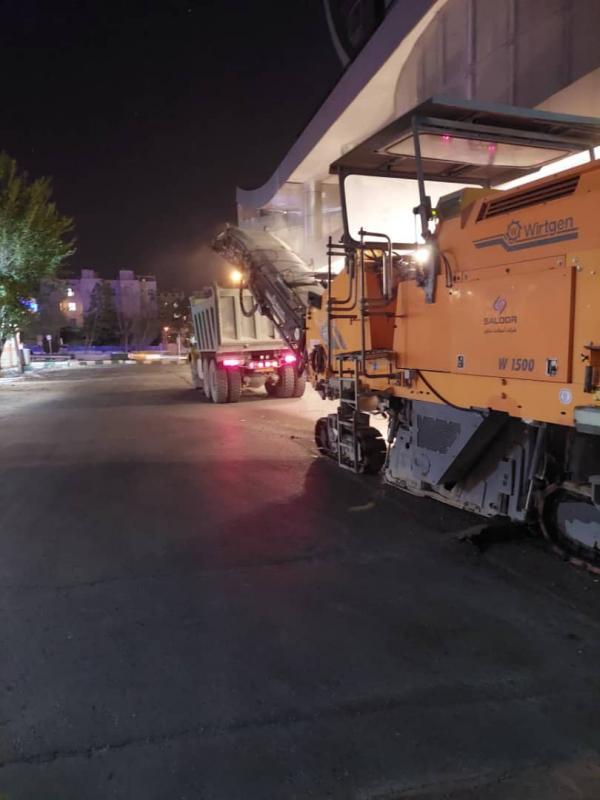 بهسازی و آسفالت 574 معبر در نواحی سه گانه منطقه 8