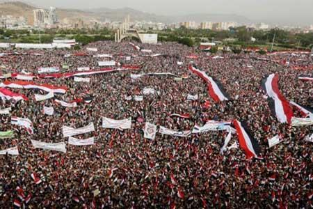 ملت یمن: آمریکا مسئول محاصره و حمله به ماست