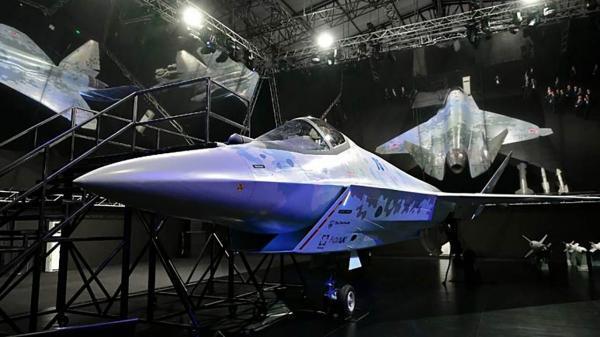 جنگنده نو روسیه که قرار است رقیب اف، 35 آمریکایی باشد رونمایی شد