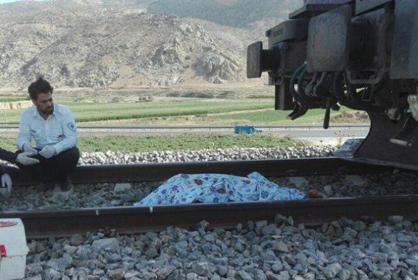 فوت دختر 14 ساله قزوینی در تصادف با قطار