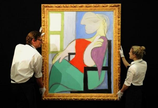 پیکاسو و باسکیا ناجی بازار هنر شدند