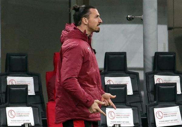 تور ارزان ایتالیا: زلاتان دومین بازی اروپایی میلان را هم از دست داد